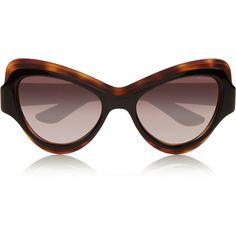 6673dd72b68 Saint Laurent Cat-eye acetate sunglasses featuring polyvore