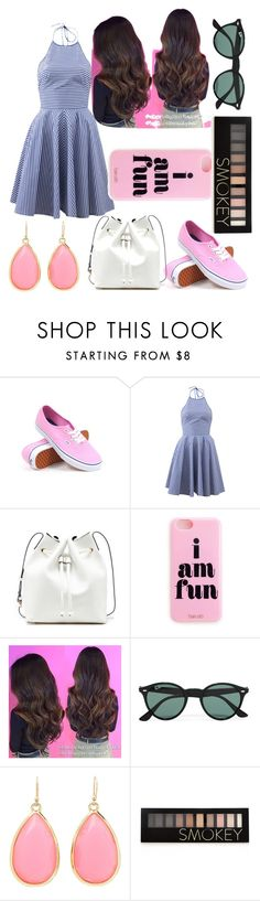 """OOTD February 6"" by chooseyourstyle321 on Polyvore featuring Vans, Michael Kors, Sole Society, Ray-Ban, Kate Spade, Forever 21, women's clothing, women, female and woman"