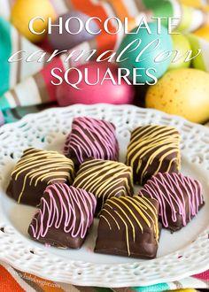 Chocolate Carmallow Squares