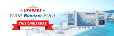 Until Thursday 24th December 4.00 pm we offer our customers big discounts on an Eco-Oxidizer and/or a pH Boss - to upgrade their Bionizer to the ultimate Eco Pool Care System. Call our office today for more information: 1800 10 62 74.