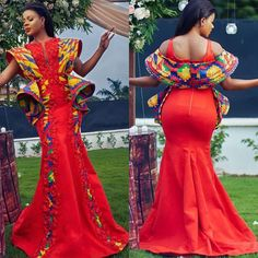 african fashion ankara Check out these stunning asoebi styles. Take a good look at them and start adding some to your collections. Loads of looks to choose from. African Wedding Attire, African Attire, African Wear, African Dress, African Weddings, African Clothes, African Fashion Ankara, African Print Fashion, Cosmopolitan