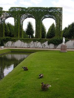 Castle gardens of Schwetzingen.   Cool. A place that has our name in it!