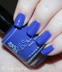 KBShimmer Fall 2015 Swatch Breaking Blues  Swatches & review of the KBShimmer Fall 2015 nail polish shades in Teal it to My Heart, Be Scareful, Fig-Get About It, Open Toad Shoes, Carpe Denim, & Breaking Blues. This is part #1 of 2 on All Things Beautiful XO   www.allthingsbeautifulxo.com