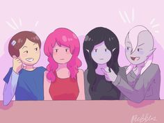 """Guys? We really want to hang out alone"" ""We are alone...just the four of us"" 