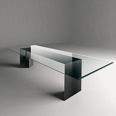 Dolm :: Design Panzeri Team Design for Gallotti&Radice Glass Furniture, Steel Furniture, Design Furniture, Home Decor Furniture, Table Furniture, Furniture Plans, System Furniture, Kids Furniture, Glass Dining Room Table