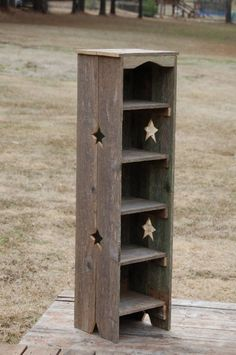 Tall Bookcase Skinny Bookcase. Thin Bookcase. Recycled Wood Shelf. Wooden Storage Shelf. Reclaimed wood Furniture