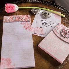 Love notes are even prettier in pink.