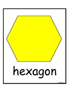 Pattern Block posters: Print, back, laminate & hang.  This is the year we will all learn the trapezoid!