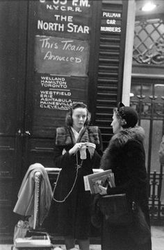 Photograph by Michael Rougier. New York City, December 1947.