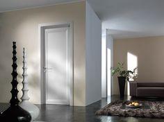 Tondin door Diamond - Angled frame - Bleached fir - Model Panel