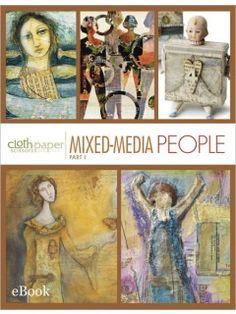 Mixed-Media People Part 1 (eBook)   InterweaveStore.com - Diana Trout #Art journal #mixed media