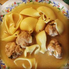 Comida de Navidad típica Catalana, escudella de galets!!!