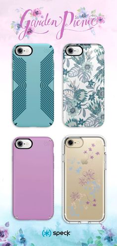 Embrace the blossoms of the season with sophisticated floral patterns and Speck's superior protection.