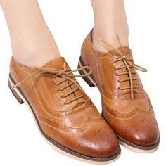 Barato Mulheres sapatos casuais, sapatas das mulheres, para mulheres senhoras genuíno sapatos 2016 novo estilo de vestido sapatos oxford Frete grátis, Compro Qualidade Apartamentos das mulheres diretamente de fornecedores da China: