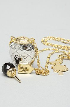 Disney Couture Jewelry The Alice in WonderlandDrink Me Bottle Pendant : Karmaloop.com - Global Concrete Culture