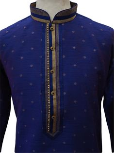 Royal Blue colour mens Kurta (Long Shirt) and churidar trousers set.(Draw stringed tight at ankle Indian trousers)Ideal for Asian weddings , Bollywood Parties or any special occasion. Mens Shalwar Kameez, Kurta Men, Winter Gowns, Boys Kurta Design, Gents Kurta, Mens Kurta Designs, African Clothing For Men, Designer Suits For Men, Bollywood Party