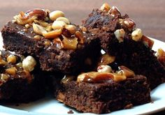 Brownies de Amendoins (Estados Unidos da América)