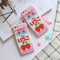 Kawaii Strawberry Phone Case SP166684