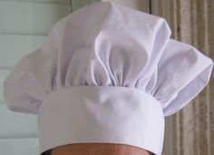 chef hat pattern
