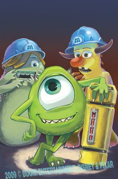 Monsters Inc 1 - Cover C by lazesummerstone.deviantart.com on @deviantART