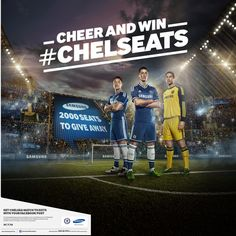 Chelsea FC Asia Tour 2013 by Adam Bartas, via Behance