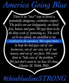 Thin Blue Line | Support Our Law Enforcement