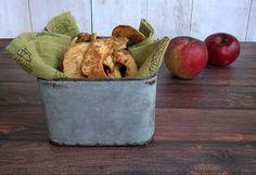 Dried Cinnamon Apple Chips