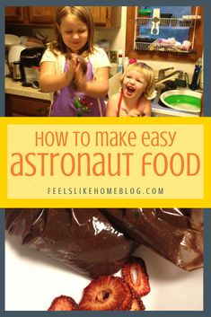 how to make astronaut pudding - This outer space article includes lots of science about astronauts and space travel. You can make this food treat with toddlers, preschoolers, or older kids. Very simple and easy recipe for homeschool or classroom. Play Based Learning, Learning Through Play, Fun Learning, Science Lessons, Teaching Science, Science Projects, Space Food, Overwhelmed Mom, Bedtime Snacks