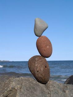 Peter Juhl~ Rock balancing