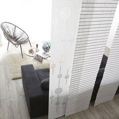 Image voilages stores et rideaux panneau japonais for Panneaux acrylique leroy merlin