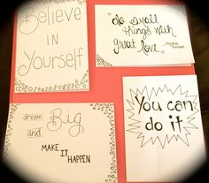 """5"""" x 6.5"""" Handmade Greeting Cards. Greeting Cards with Quotes - pinned by pin4etsy.com"""