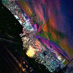 ART #artistic #confusing #streetlights #colors #movement