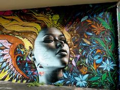 colorful street art