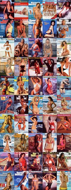 ALL 50 Sports Illustrated Swimsuit Issue Covers.