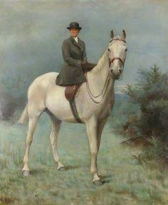 Alice Mary Darby Mrs Francis Alexander Wolryche-Whitmore, on Horseback, 1906 by Evelyn Blacklock Equestrian Art, Historical Painting, Art Gallery, Art Uk, Art, Horse Art, Vintage Artwork, Horse Silhouette, Animal Paintings
