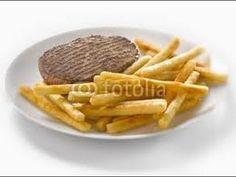 Tuto fimo : plat de frites et steak haché - YouTube