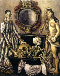 El Espejo de la Muerte by Jose Gutierrez Solana