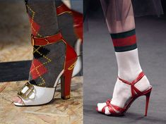 How To Wear Ankle Socks And Heels