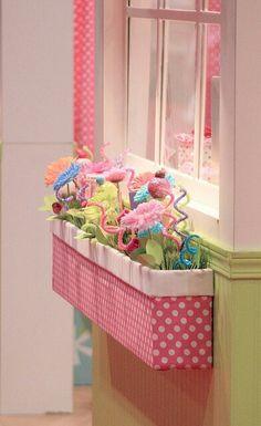 Kids flower box