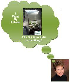 Help Tresa to get P-Pod fresh peas by backing the campaign @ Kickstarter http://kck.st/174Mugc