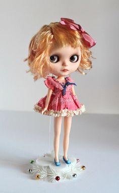 Mab Graves - Soaki - custom ooak Blythe art doll