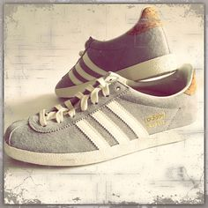 my new adidas gazelle shoes #loveit#sobeautiful#in#grey