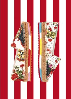 A new shoe with an espadrille thrill.