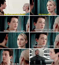 #Insurgent Peter is the wittiest character I have ever seen.