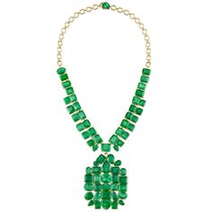 Irene Neuwirth emerald necklace