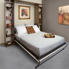 Custom Service Hardware's discussion on Hometalk. Wall Bed - Murphy Bed Hardware - Have a spare room function as a guest room as well as a hobby room with a bed that can be folded away into the wall!