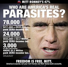 The real Parasites Who pay ZERO Income Tax  ...https://www.facebook.com/moralpolitics