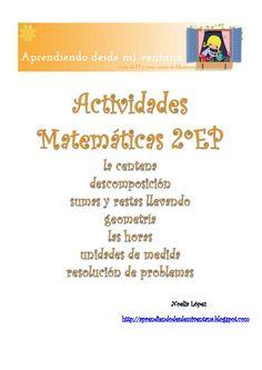 Actividades de matemáticas 2º educación primaria