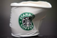 Starbucks wants 100% of its cups recycled by 2015... or bring your own mug & save 10 cents a cup :)
