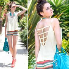 Check out Tribal In The Tropics Look by Double Zero and Lovely Day